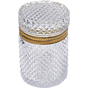 First-Quarter Of The 20th Century Baccarat Crystal Box