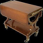 Serving cart by Kaplan Furniture Beacon Hill