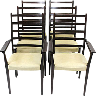 Svegards Rosewood Dining Chairs, Set of 10