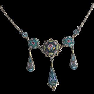 Italian Micro-mosaic Necklace