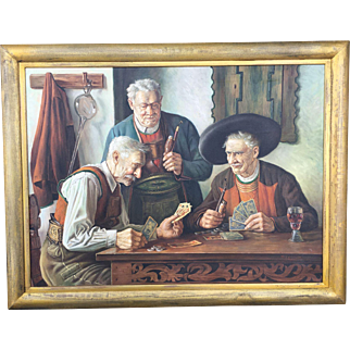 Card players by Eichinger