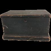 Primitive 18th Century Bible Box