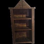 Primitive Pa Shelf Cupboard