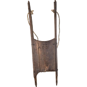 19th Century Primitive Child's Sled