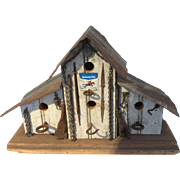 Vintage Hand Made Bird House