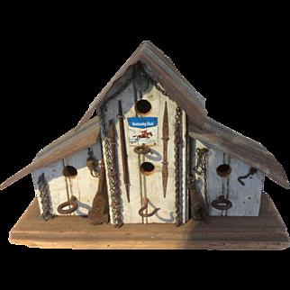 Vintage Hand Made Bird House
