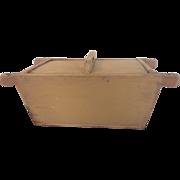 Early 19th Century Primitive Dough Box