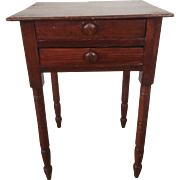 18th Century Federal Period Work Table