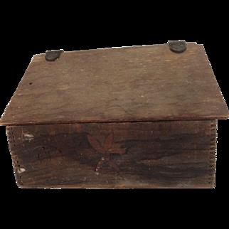 19th Century Cobblers Box.