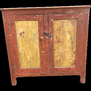 Primitive 19th Century Cupboard