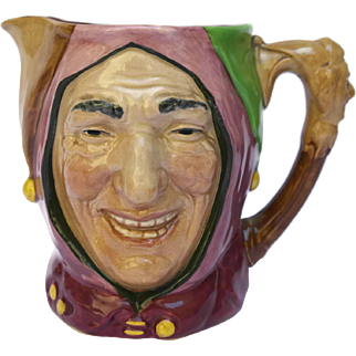 Royal Doulton Character Jug of Touchstone Court Jester.