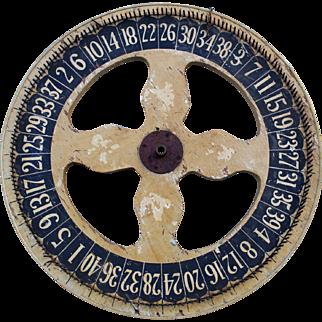 Original Paint Carnival Gaming Wheel