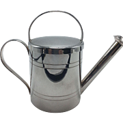 English Silverplate Small Watering Can
