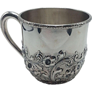 Large Heavy Dominick and Haff Sterling Child's Cup