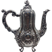 French Sterling Coffee Pot
