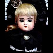 "SOLD INHOUSE   Kestner Alphabet Series Puppe ~ ""F"" ~ Antique Bisque Doll"