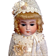 Sweetest Antique Cuno & Otto Dressel Doll ~ 22""