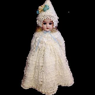 "Darling Little Cuno & Otto Dressel Antique Doll ~ 12"""