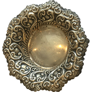 Sterling Candy/Nut Dish by George W Shiebler (famous) NYC 1876-1910, 42.10 grams