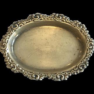 Sterling Silver Salt by Lebolt & Co, Chicago, 1899-1983, 13.41 grams