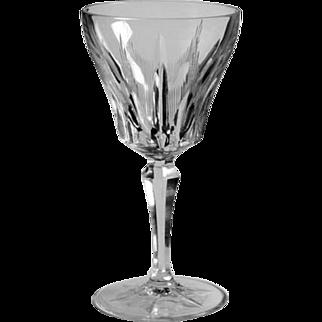 "Vintage Villeroy and Boch Saar Crystal Pattern Parzival - Red Wine 6.5"" Tall"