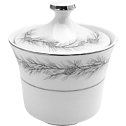 Mid-Century Vintage Duchess Pattern Sugar Bowl by Style House Fine China