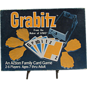 1979 Grabitz Card Game by International Games.