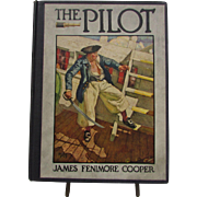 1925 The Pilot by James Fenimore Cooper. First Edition Hardcover Book