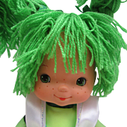 """16"""" Patty O'Green Doll from Rainbow Brite.  New Old Stock with Tag"""