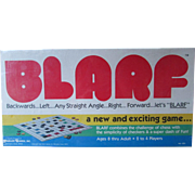 BLARF Game New Old Stock. Still Sealed!   Checkers and Chess Combined