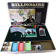 Billionaire Parker Brothers Game of Global Enterprise.