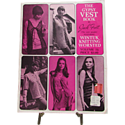 1969 The Gypsy Vest Book by Jack Frost the Yarn People