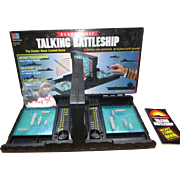 1989 Electronic Talking Battleship Game.  The Classic Naval Combat Game.  Very Nice Condition