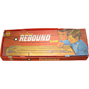 1971 Rebound Game by Ideal.  Excellent Condition. Shuffleboard