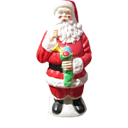 "LARGE 42"" Empire Blow Mold Santa Claus Christmas Blow Mold . Lighted Decoration with Cord. Yard Ornament."