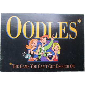 OODLES. The Game You Can't Get Enough Of. Milton Bradley. 1992. Very Good Condition