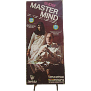 VINTAGE Game, Super MASTERMIND by Invicta 1976, Game of Cunning and Logic. Complete. Nice Vintage Condition.