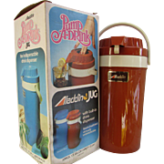 VINTAGE Aladdin's Pump A Drink Jug.  1/2 Gallon Insulated.  In Original Box.