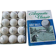 Vintage Augusta Classic Golf Balls in Original Box.  12 Golf Balls.