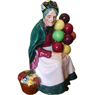 The Old Balloon Seller