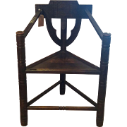 Pair of 19th Century Turner Style Chairs