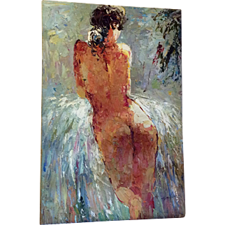 Oil Painting of Naked Woman