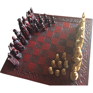 Rare Westminister Chess Set