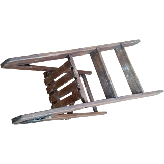 Antique Small Ladder