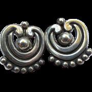 Los Castillo Vintage Mexican Sterling Silver Earring