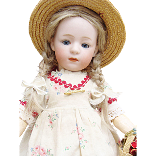 Adorable antique Heubach Bebe