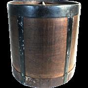 Large Wood Grain Measuring Cup