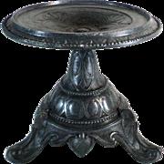 Art Nouveau Oil Lamp Pedestal Stand,  L.S.I 213