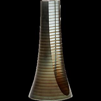 Zoltan Bohus Balance II Laminated Glass Sculpture 1996