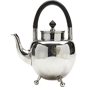 Hukin & Heath Christopher Dresser Silver Plated Teapot 1879